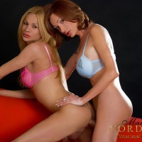 Hot shemale on shemale sex action with Mariana Cordoba and TS girlfriend