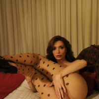A very seductive Transgirl in pantyhose