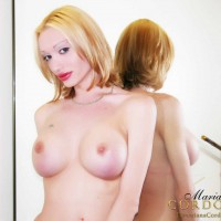 Wicked Shemale Mariana Cordoba showing off her awesome knockers