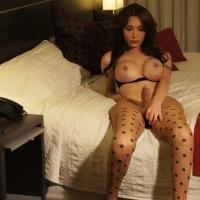 A very seductive Transgirl in pantyhose