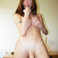 The size of this transsexual meat stick is truly impressive